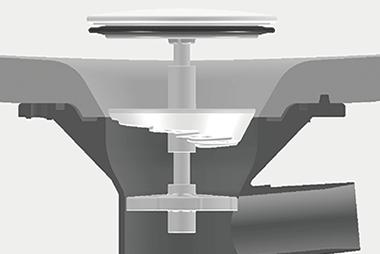 新てまなし排水口の構造イメージ