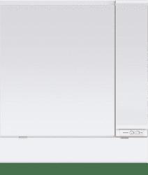 高さ1800対応2面鏡ミドルミラー