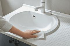 スゴピカ素材の水栓