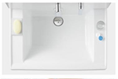 saquaの洗面器